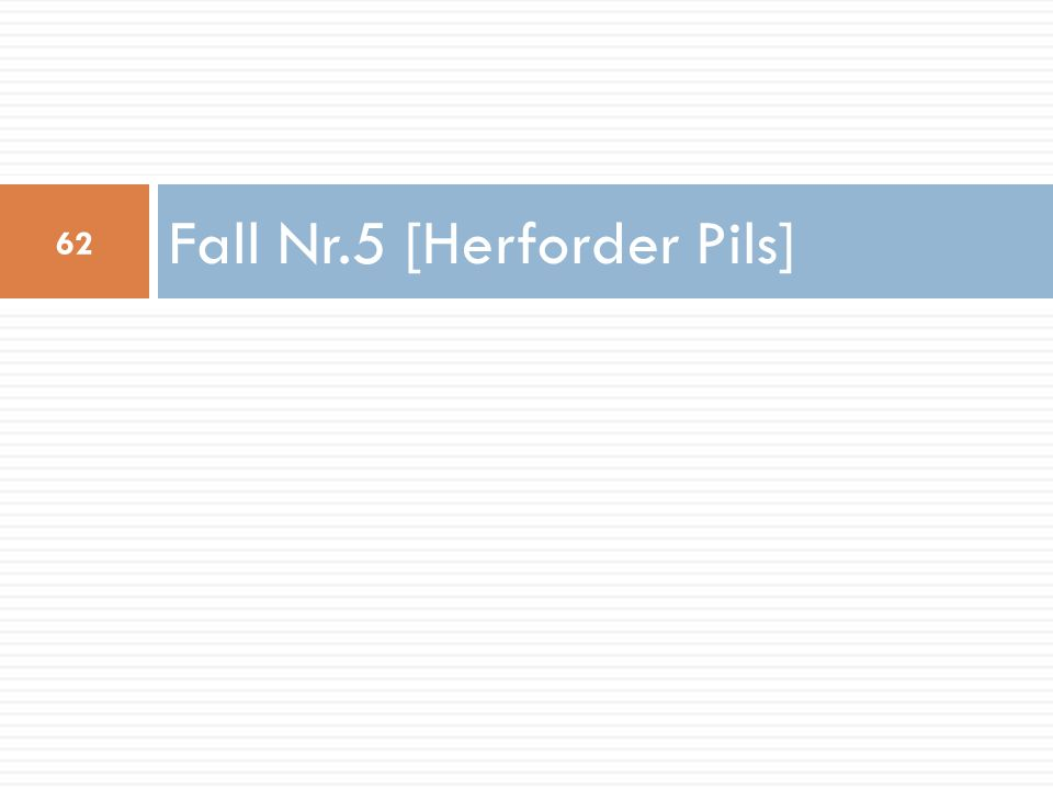 Fall Nr.5 [Herforder Pils]